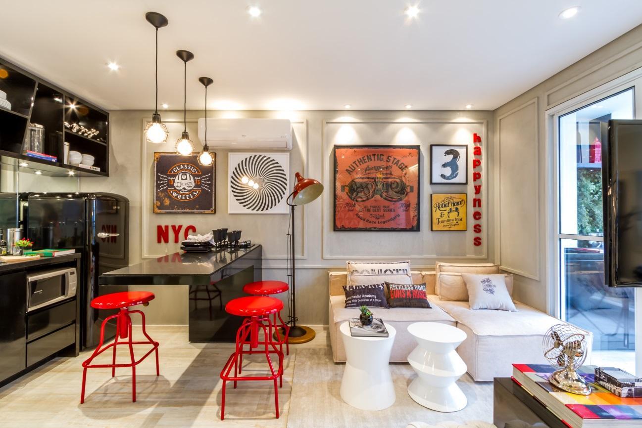 6 dicas de decoração indispensáveis para apartamentos pequenos