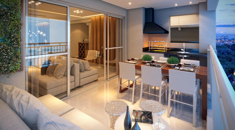 Super Por que ter e como decorar uma varanda gourmet? - Blog Rankim KQ59